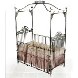 Enchanted Garden Iron Crib