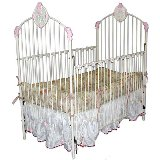 Rose Plaque Iron Crib