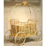 Pumpkin Carriage Iron Crib