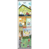 Canvas Can do Kids Growth Chart