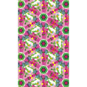 Kaleidoscope Green Flower Wall Art