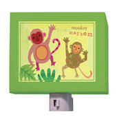 Monkey Mayheim Night Light