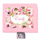 Pink Roses Night Light by Drooz Studio