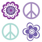 Hippie Chic Kidifexs Wall Stickers