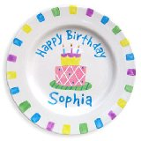 Happy Birthday Girl Personalized Plate