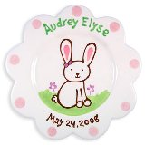 Bunny Girl Personalized Plate
