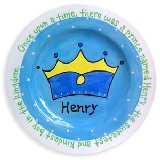 Crown Boy Personalized Plate