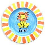 Lion Personalized Plate