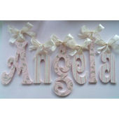 A Charmed Life Angela Wooden Wall Letter