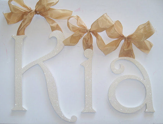 A Charmed Life Kia Wooden Wall Letter