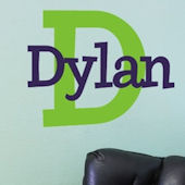 Dylans Preppy Wall Decal Sticker