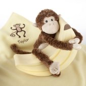 Plush Monkey Magoo and Blankie Too Gift Set