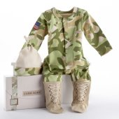 Big Dreamzzz Camo 2 Piece Layette Gift Set