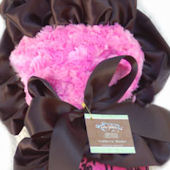 Baby Jakes Ruffled Crown Couture Blanket