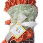Baby Jakes Giraffe Cuddle Up Blanket