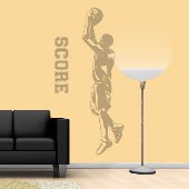 Jumpshot - Sudden Shadows Wall Decals