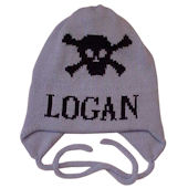 Personalized Skull Crossbone Hat