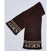 Personalized Name Scarf