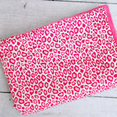 Caden Lane Girly Pink Leopard Blanket