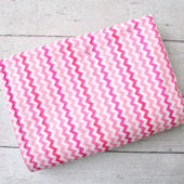Caden Lane Girly Pink Zig Zag Blanket