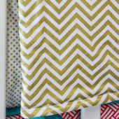 Caden Lane Gold Chevron Blanket