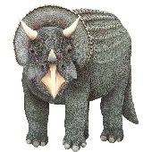 Triceratops Large Dinosaur Peel Stick Wall Mural