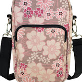 Diapees and Wipes Flower Hipster Diaper Bag