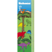 Frecklebox Dinosaur Personalized Growth Chart