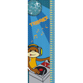 DJ Monkey Personalized Growth Chart