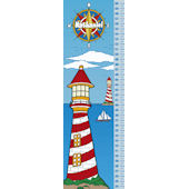 Frecklebox Lighthouse Personalized Growth Chart