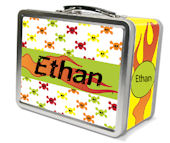 Frecklebox Personalized Skulls Lunch Box