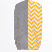 Glenna Jean Swizzle Yellow Diaper Stacker