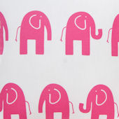 Glenna Jean Ellie And Stretch Pink Elephant Fabric