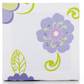 Glenna Jean Lulu White Floral  Wall Hanging