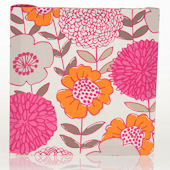 Glenn Jean Millie Floral Fabric Wall Hanging