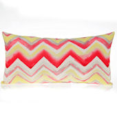 Glenna Jean Harper Zig Zag Rectangle Pillow