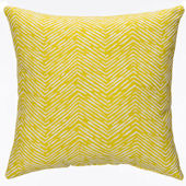 Glenna Jean Lil Hoot Yellow Pillow