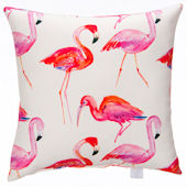 Glenna Jean Lill And Flo Flamingo Pillow