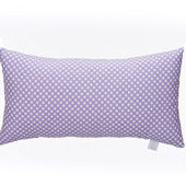 Glenna Jean Lill And Flo Pruple Dot Pillow