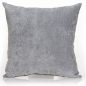Glenna Jean Swizzle Velvet Grey Pillow
