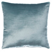 Glenna Jean Traffic Jam Blue Silk Pillow