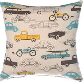 Glenna Jean Traffic Jam Print Pillow