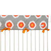 Sweet Potato Rhythm Crib Rail Protector