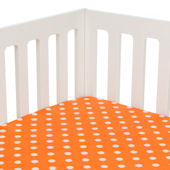 Glenna Jean Sweet Potato Rhythm Fitted Crib Sheet