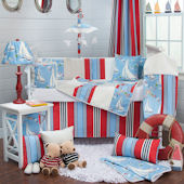 Glenna Jean Set Sail Crib Set