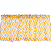 Glenna Jean Swizzle Yellow Window Valance