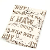 Glenna Jean Carson Cowboy Print Fitted Sheet