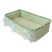 Sherbert Celery 3pc Cradle Bedding Set