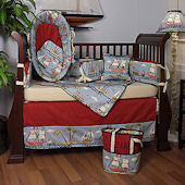 Ahoy! 3pc Crib Bedding Set