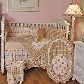 Ballerina 3pc Crib Bedding Set